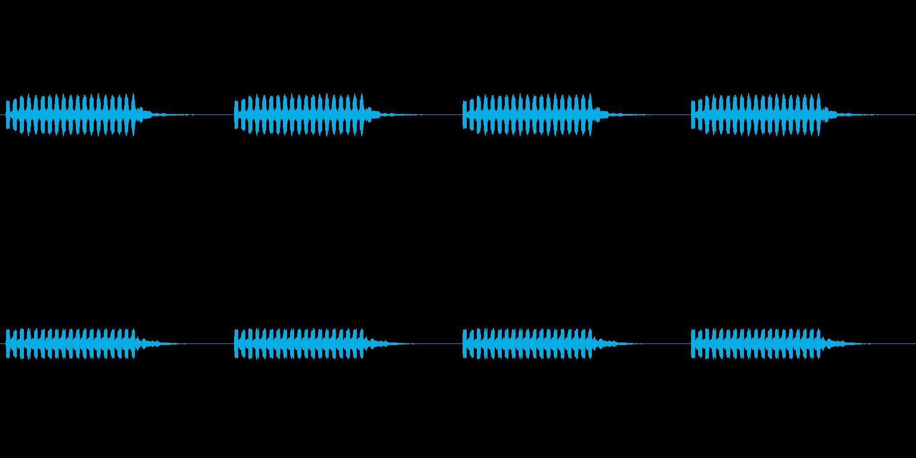 【携帯電話 着信音02-3L】の再生済みの波形