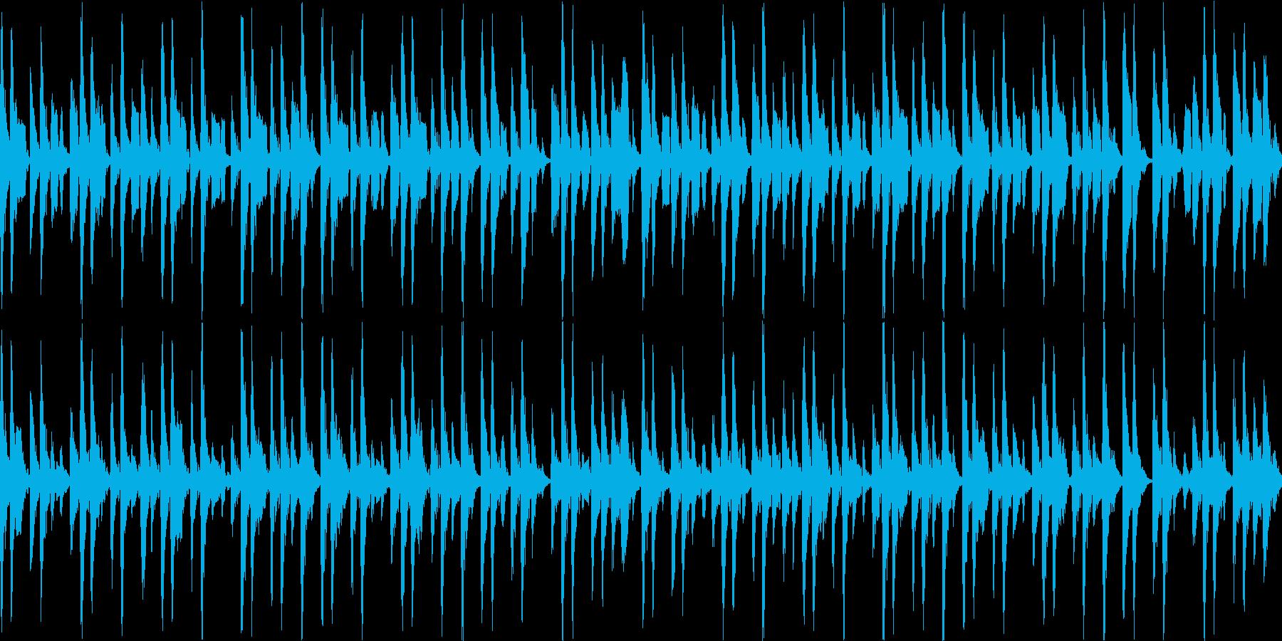 祭囃子 A 大太鼓ありの再生済みの波形