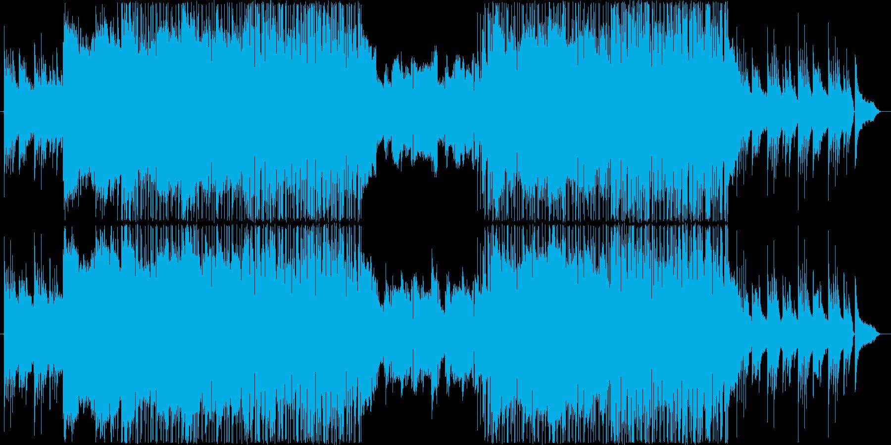 美しくゆったりとした涼しげなサウンドの再生済みの波形