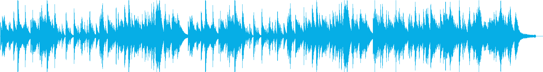 優しい風のようなピアノソロ。3分26秒。の再生済みの波形