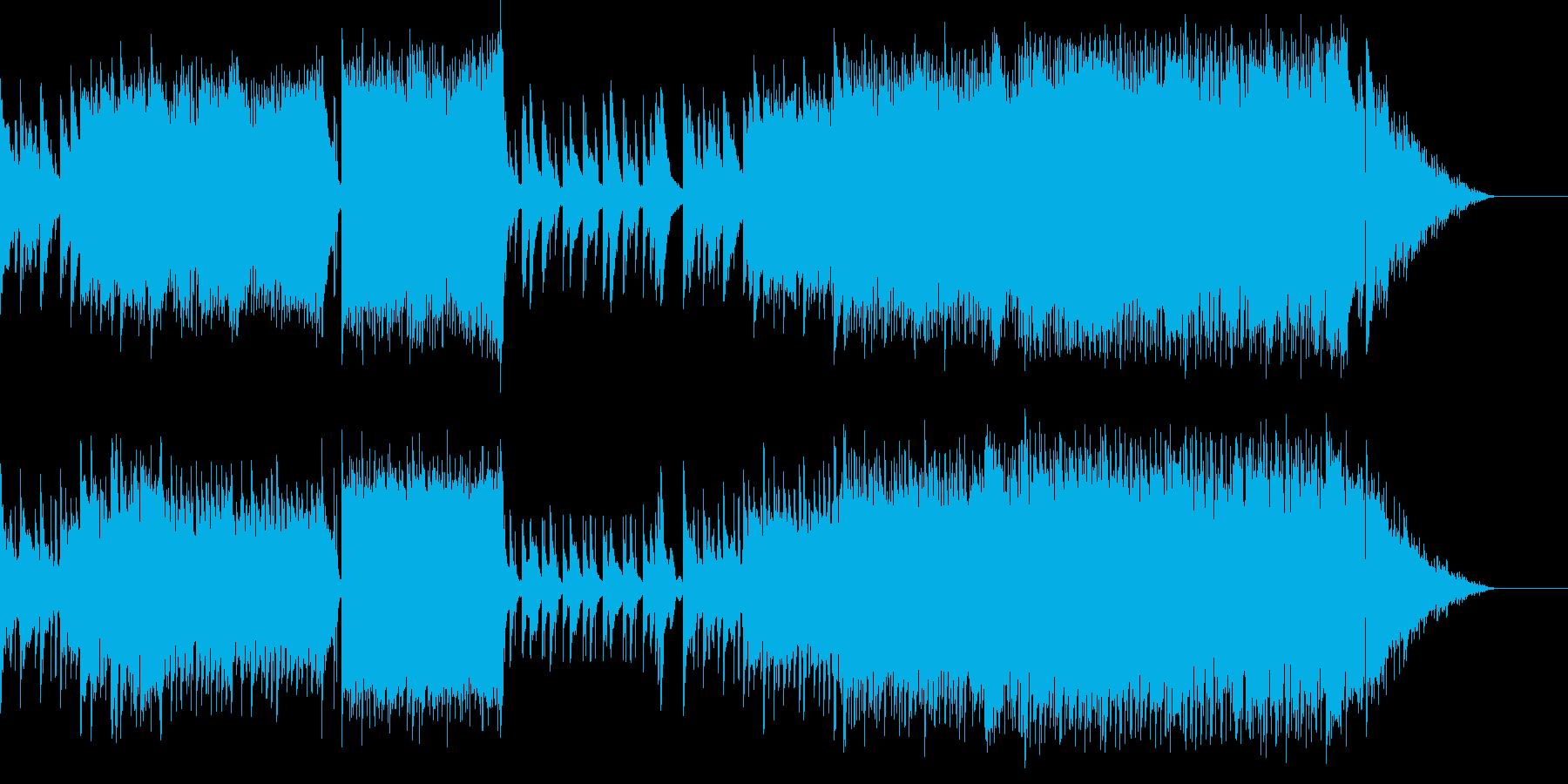 ピアノの旋律が印象的なラブバラードの再生済みの波形