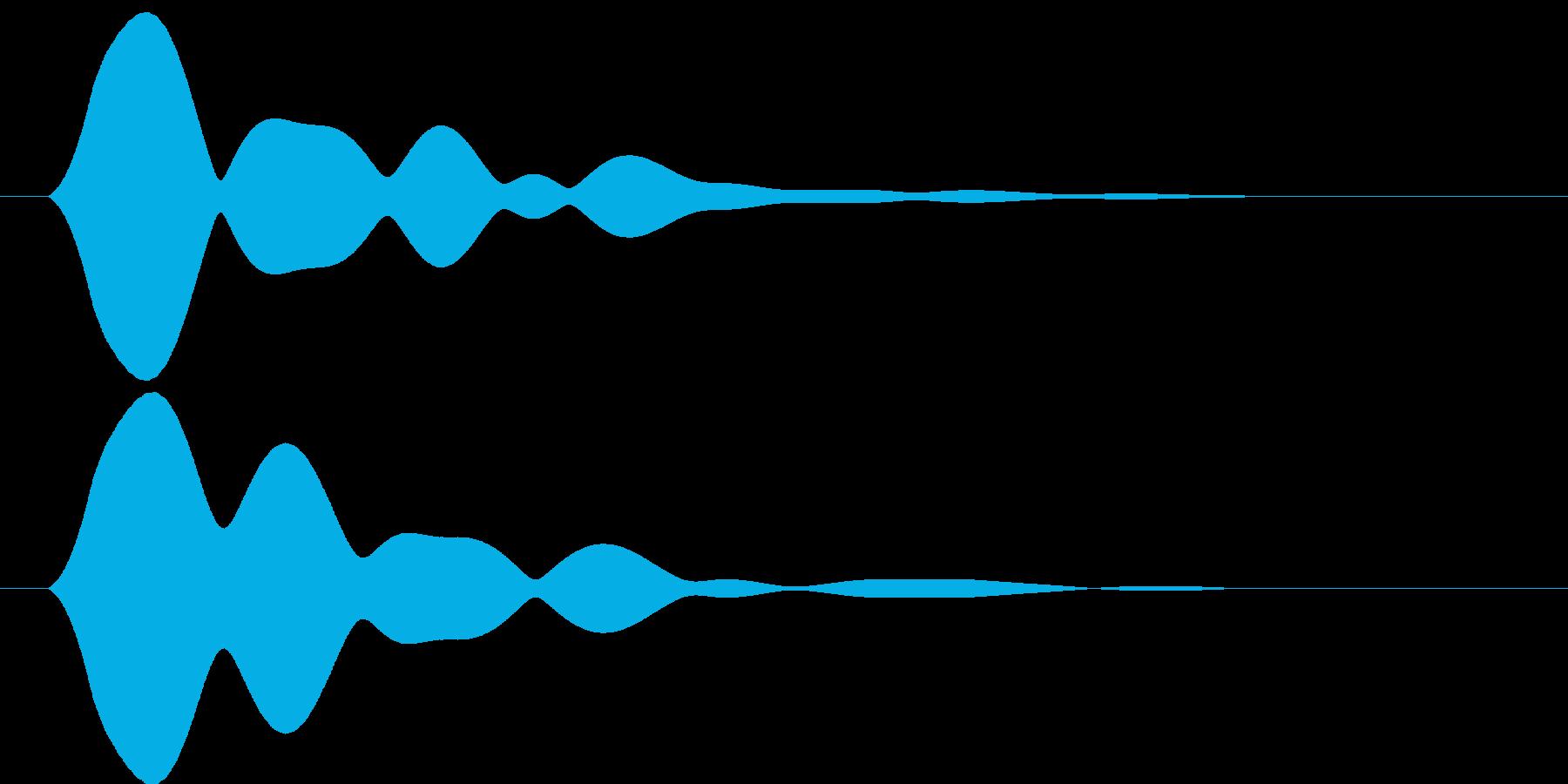 フィン【神秘的で優しい光を放つ音】の再生済みの波形