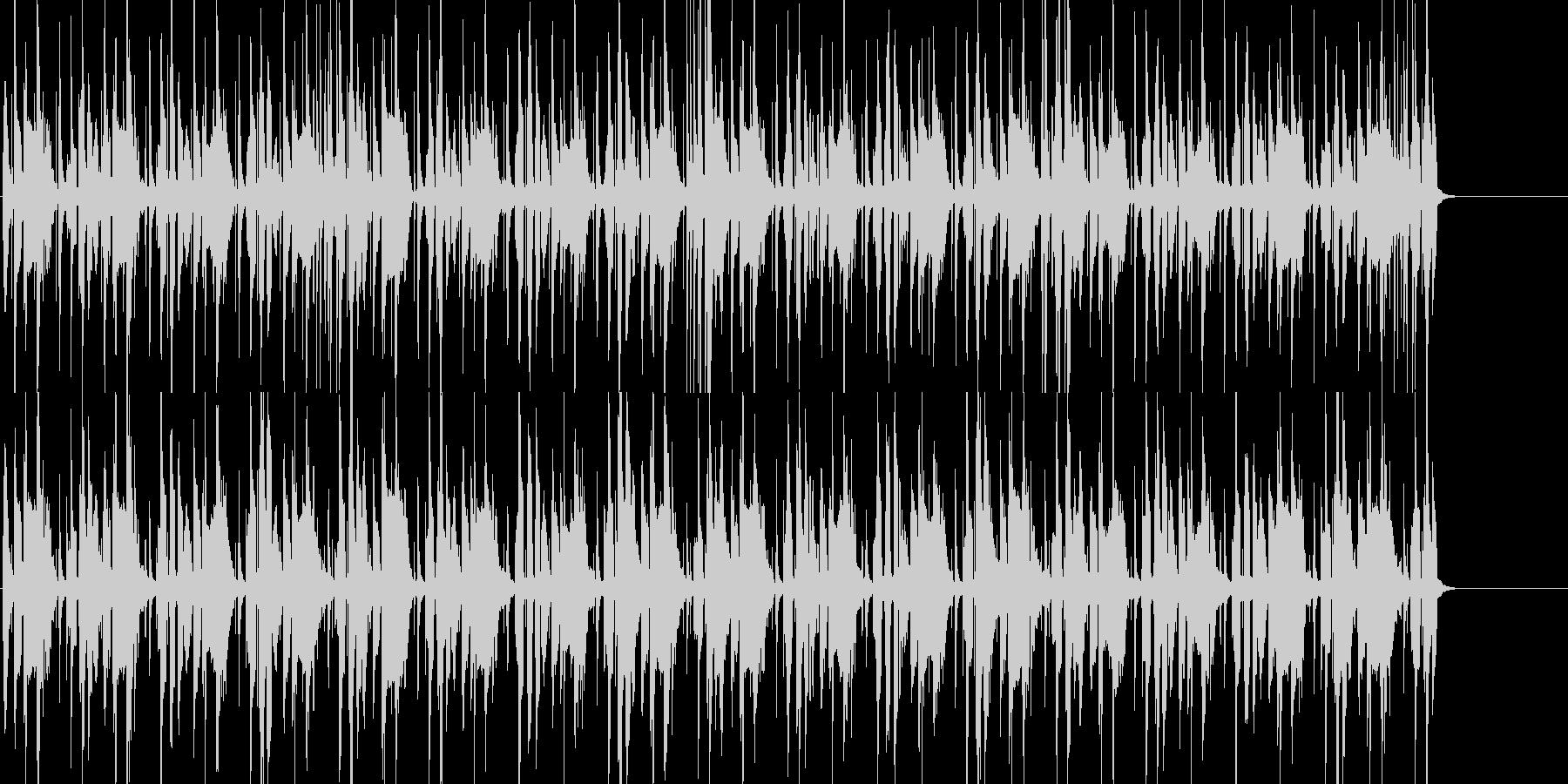 パーカッションが印象的なほのぼのポップの未再生の波形
