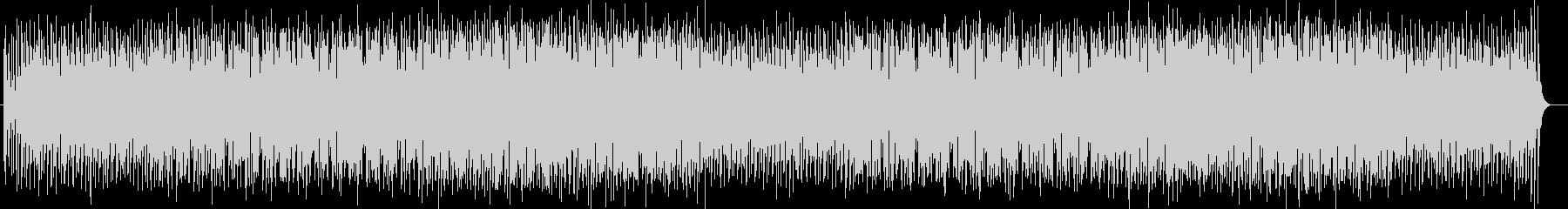 トロピカルなシンセサイザーなどのサウンドの未再生の波形