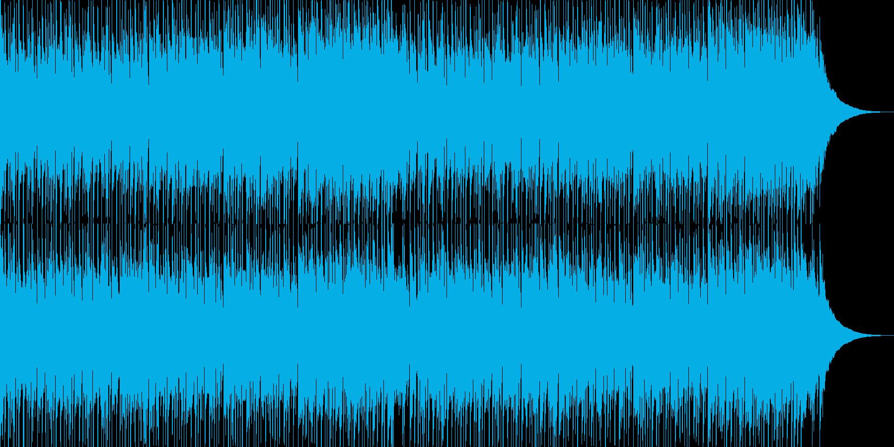 フュージョン風明るいポップス02の再生済みの波形