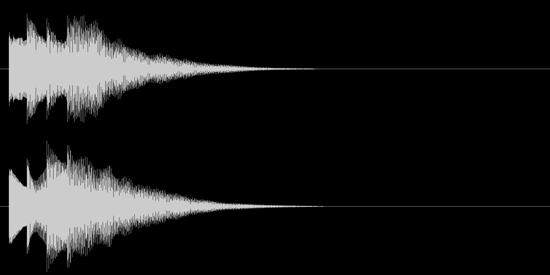 アラーム音06 ベル(add9)の未再生の波形