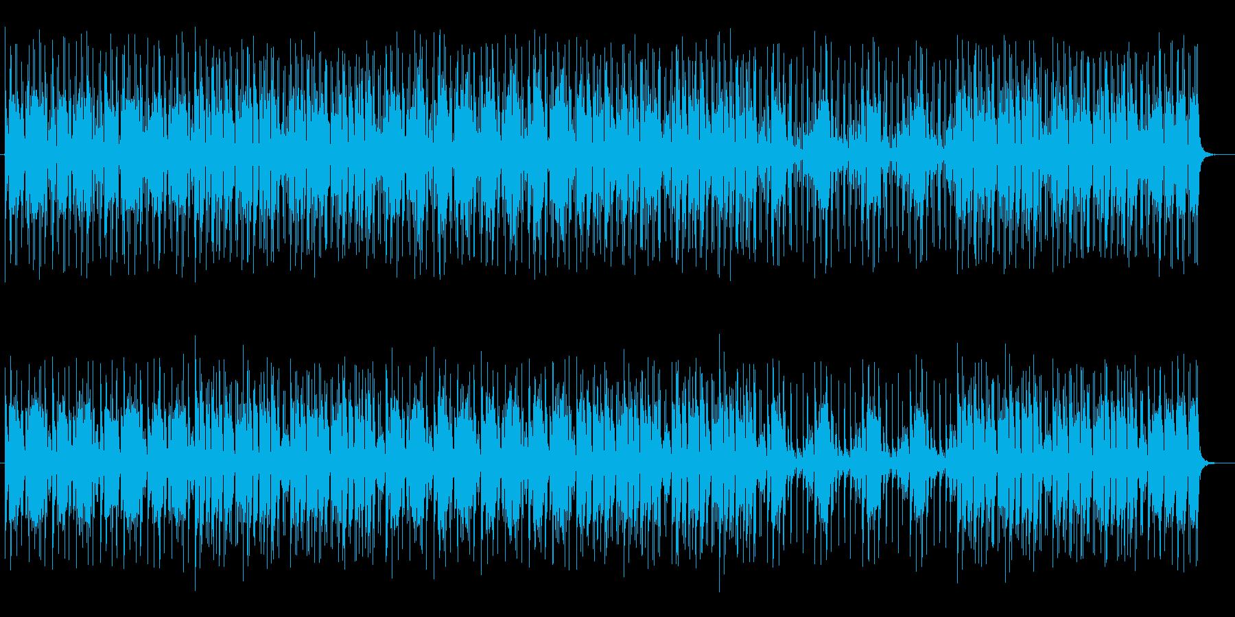 リズミカルで楽しく聴けるポップスの再生済みの波形
