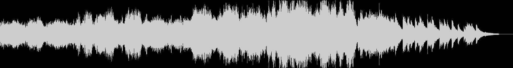 【ショート版】感動系ピアノオーケストラの未再生の波形