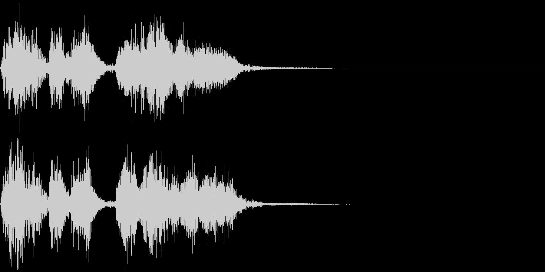 パパパパッパパー(トランペット)の未再生の波形