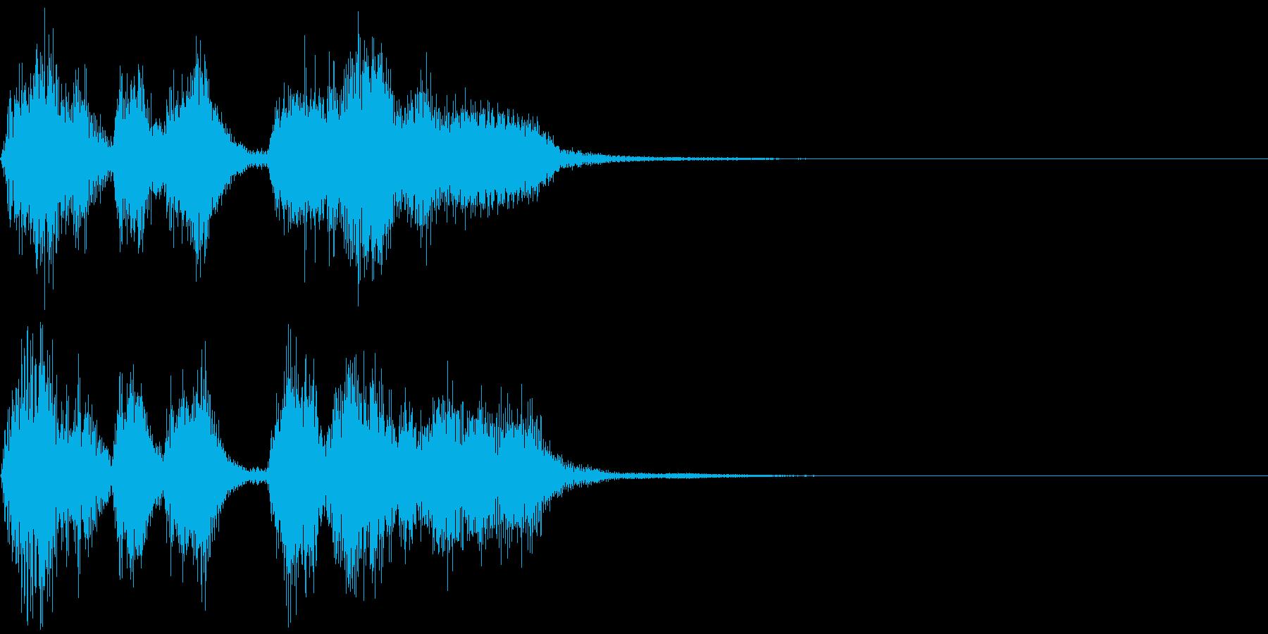 パパパパッパパー(トランペット)の再生済みの波形
