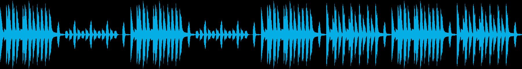 楽しみな入社式な曲(ループ仕様)の再生済みの波形