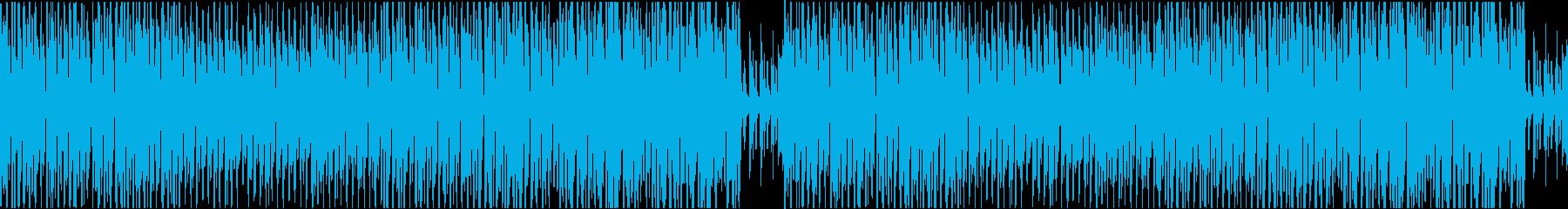 CM用明るいコミカルマーチの再生済みの波形