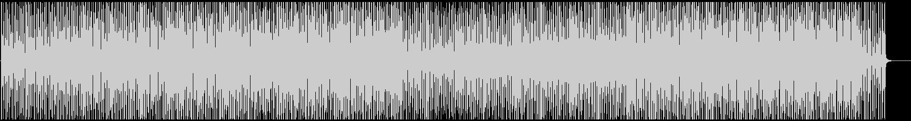 映像用おしゃれボサノバサンバ明るいリズムの未再生の波形
