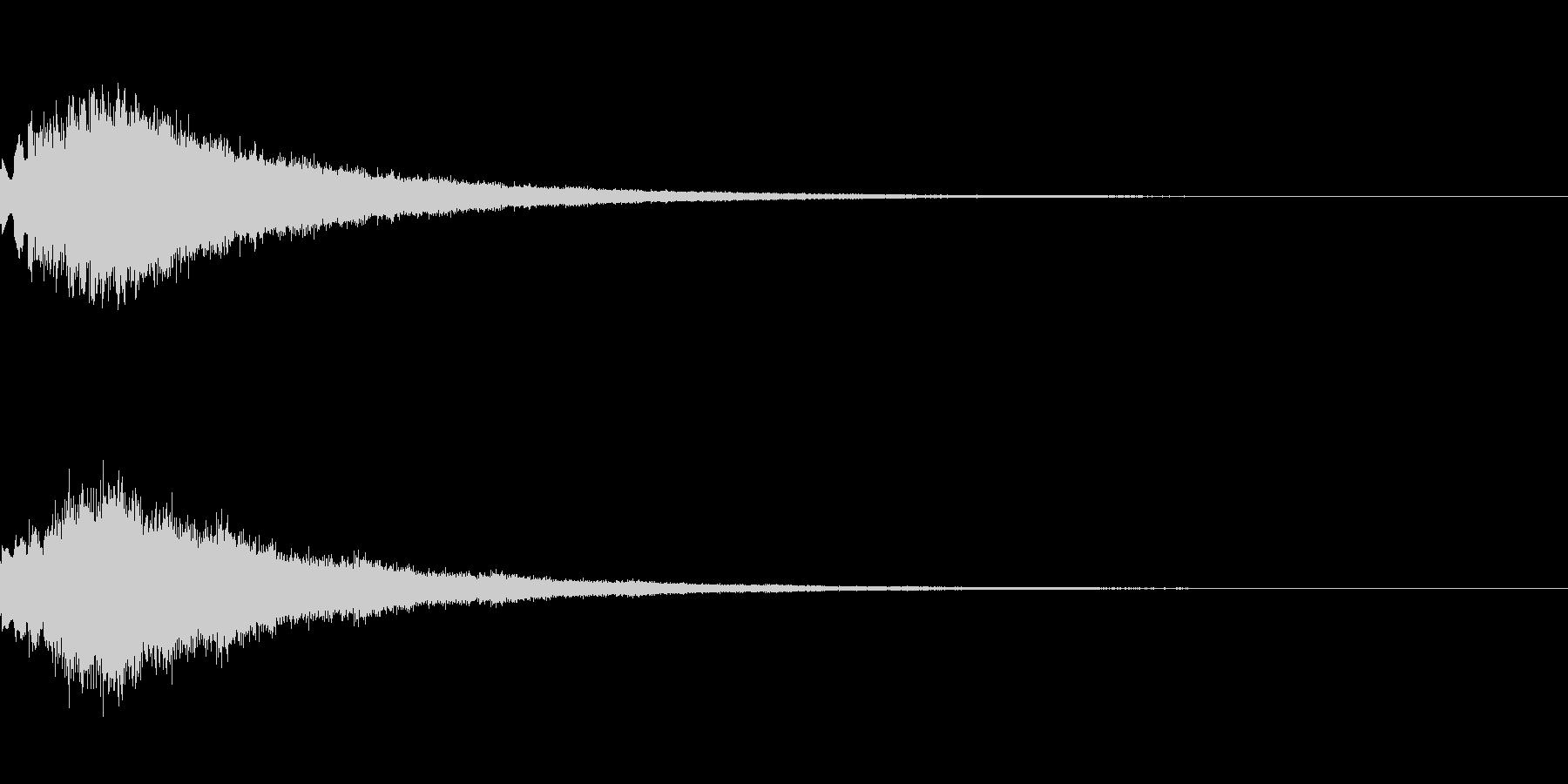 キラキラ シャララーン アイキャッチ02の未再生の波形