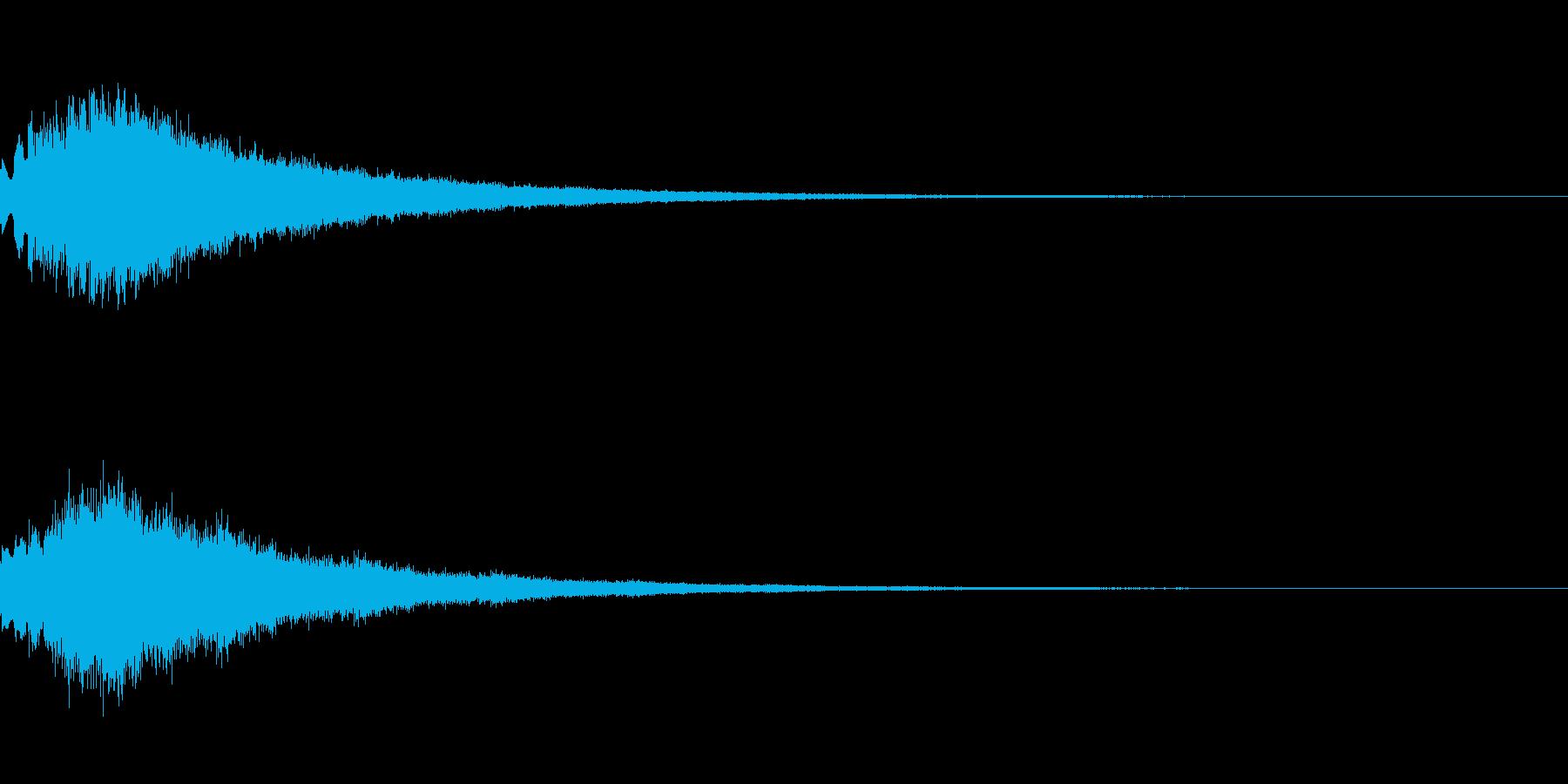 キラキラ シャララーン アイキャッチ02の再生済みの波形