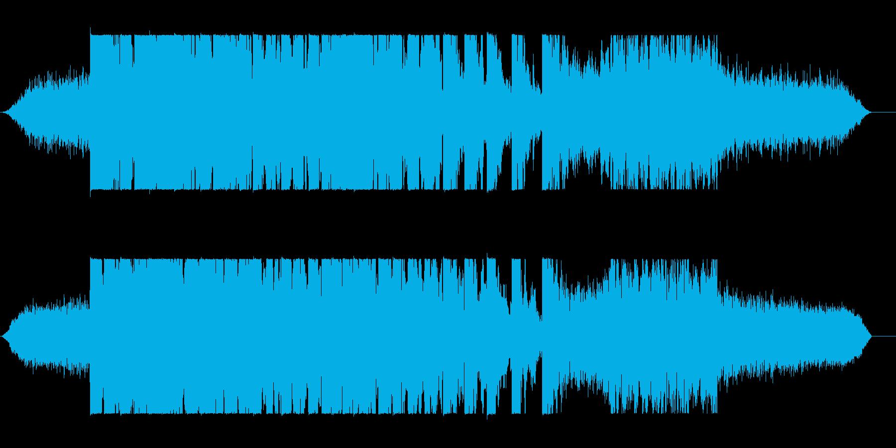 恐怖の再生済みの波形