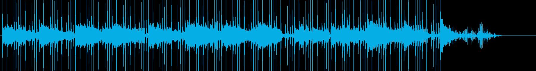 バイオリンが綺麗なBGMの再生済みの波形