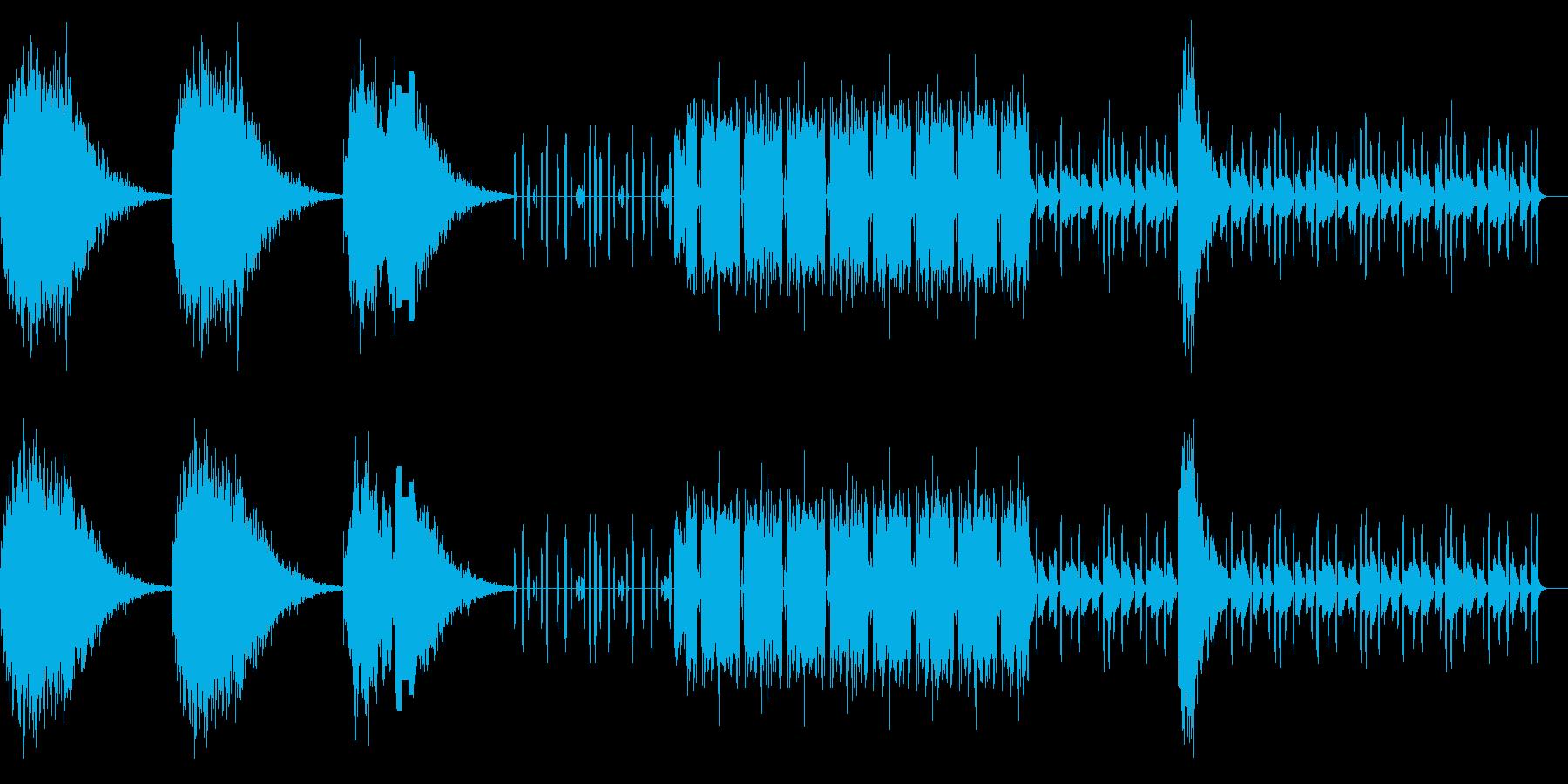 ちょっと前衛的過ぎる曲ですの再生済みの波形