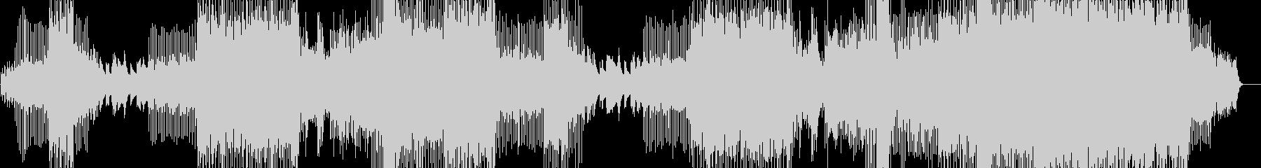 ヒーリング系4つ打ちプログレッシブハウスの未再生の波形