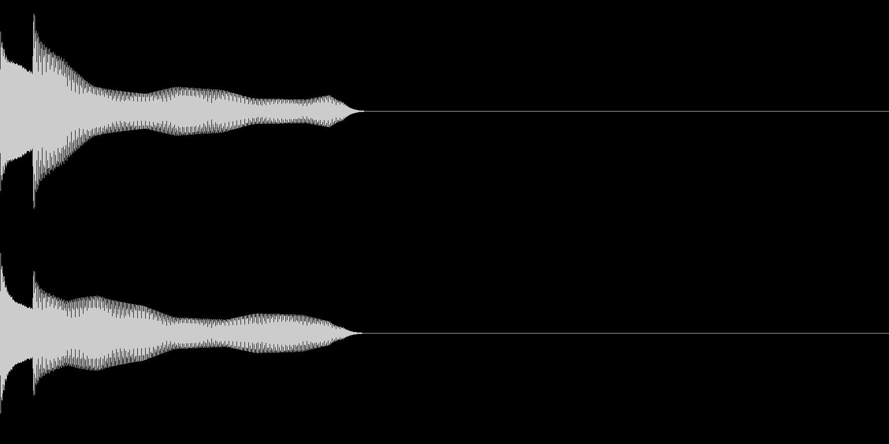 サウンドロゴ21_シンセAAの未再生の波形