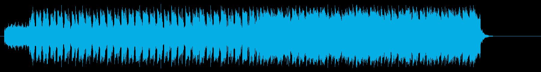 自由自在に駆け回るポップ(イントロ~…)の再生済みの波形