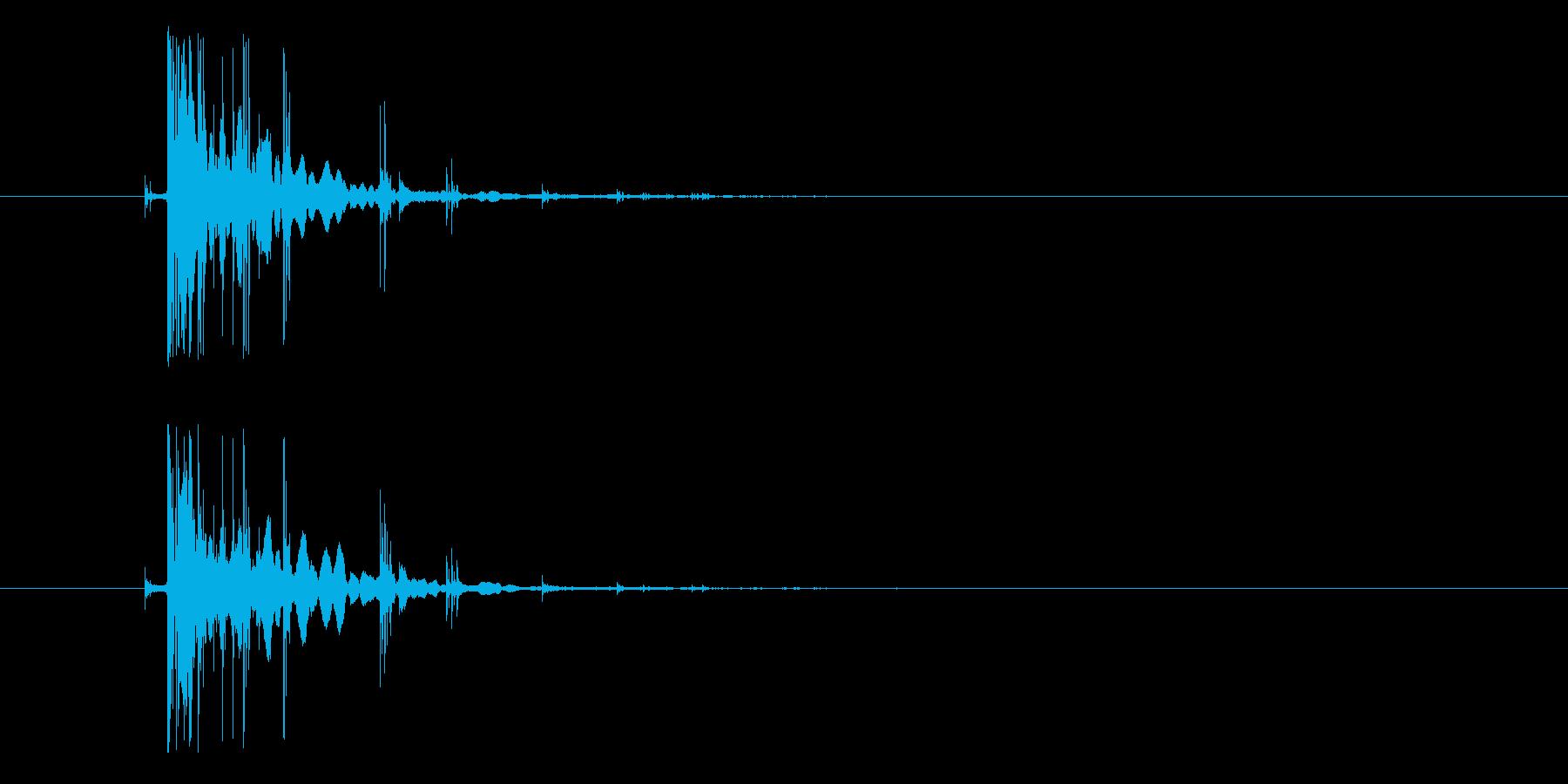 効果音、コイン, チャリーン、小銭、ド…の再生済みの波形