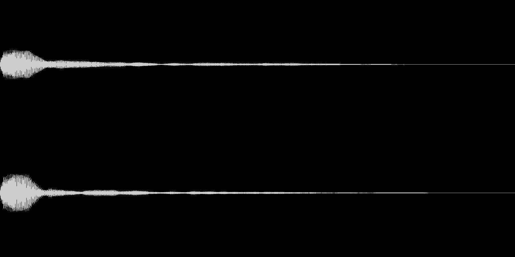 プッ(タイトルメニュー_オンマウス03)の未再生の波形