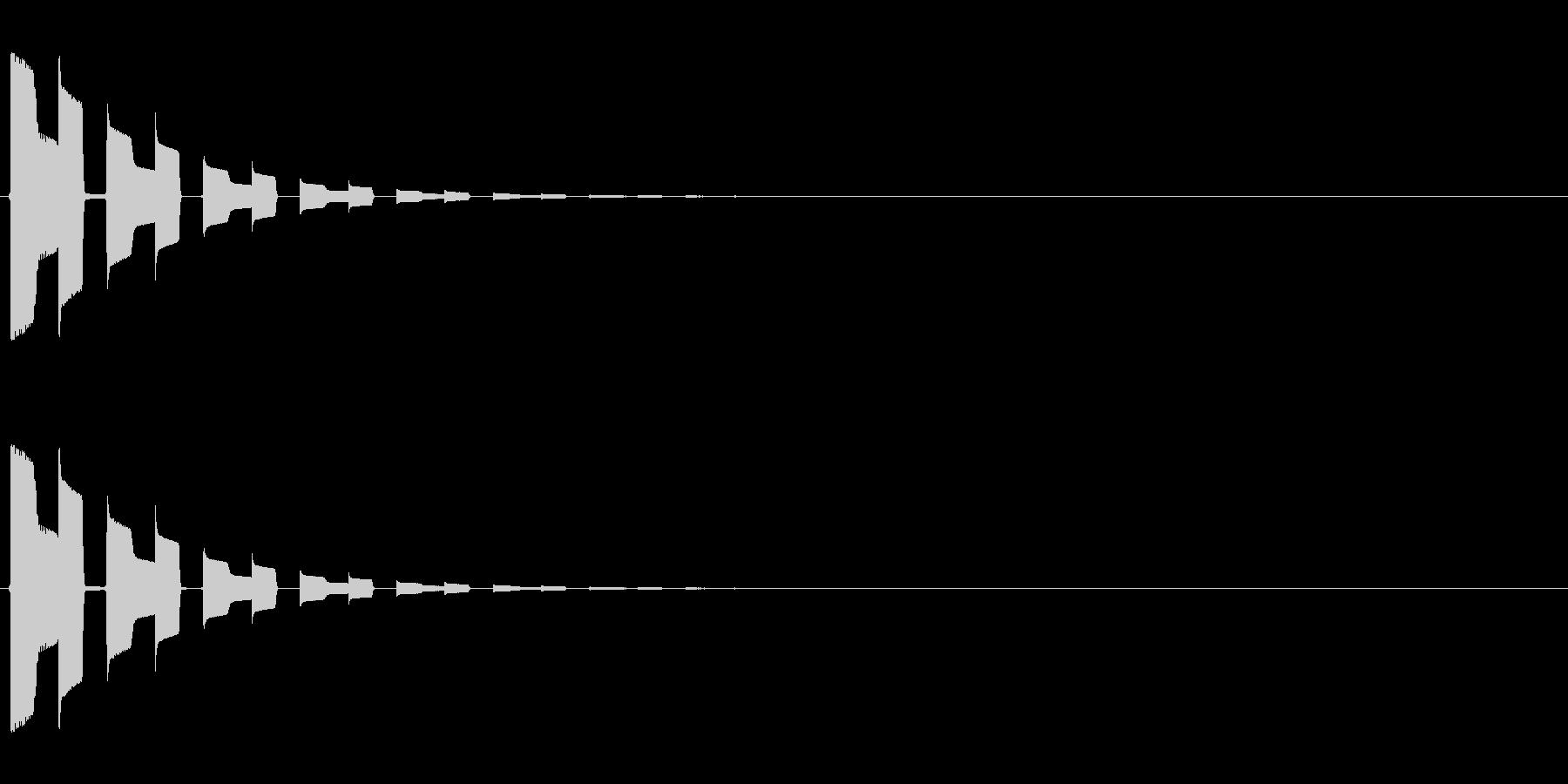 ピロリッ↑(セーブ、回復、決定音)の未再生の波形