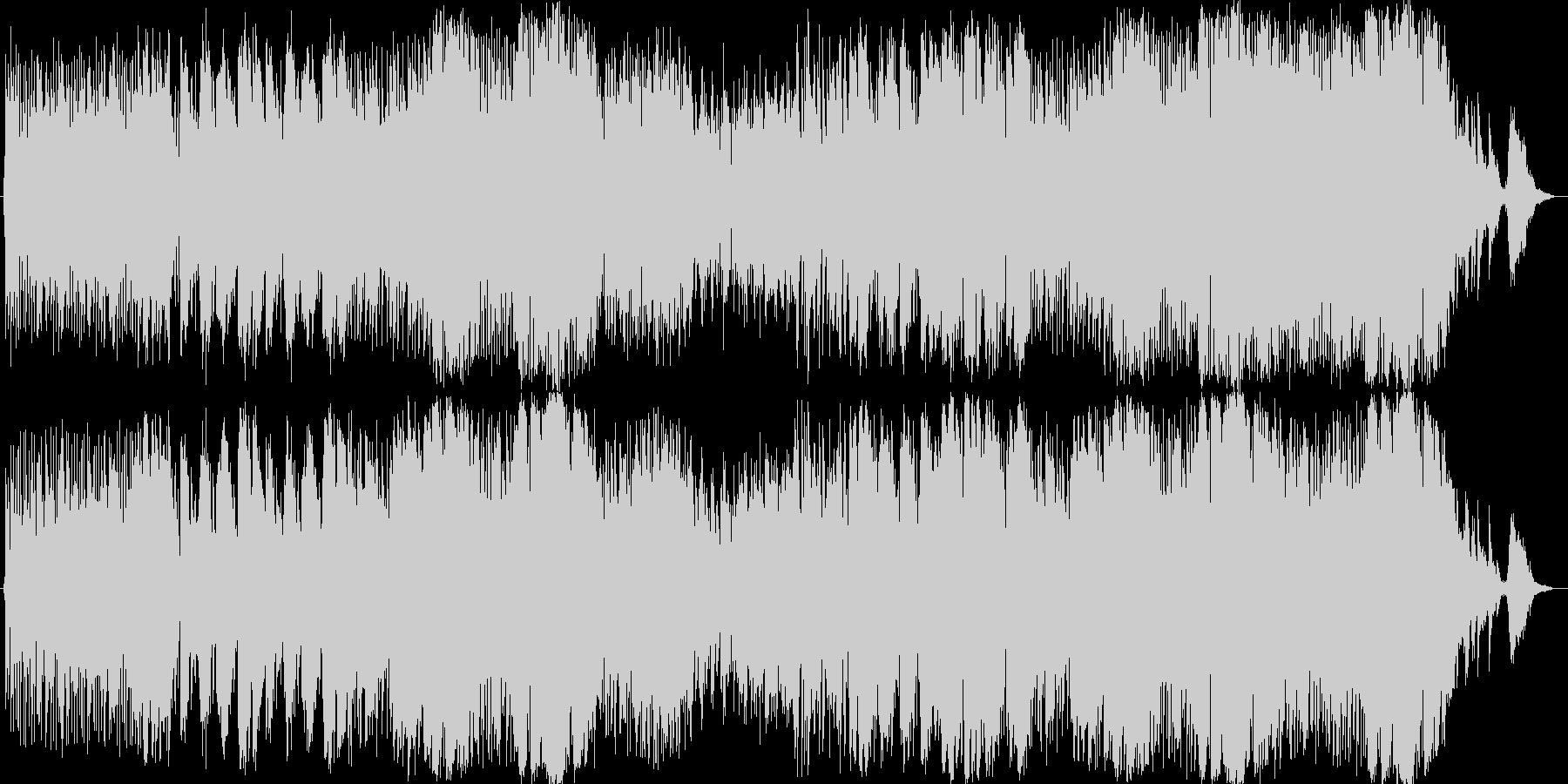 番組やイベントOPを想定したインスト曲の未再生の波形