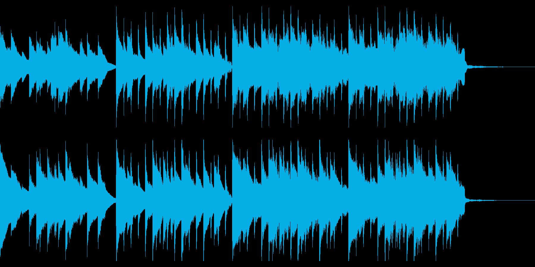 ピアノ×電子系、爽やかなロングCM風の再生済みの波形