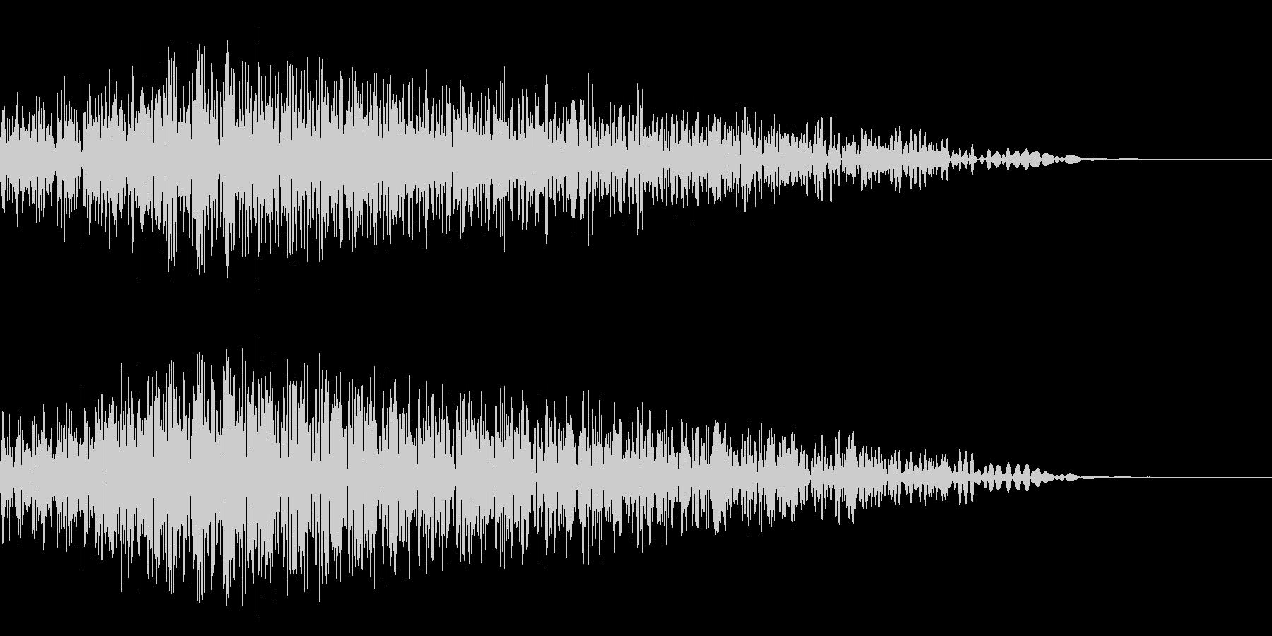 メニュー画面音(ウインドウ,決定等)11の未再生の波形