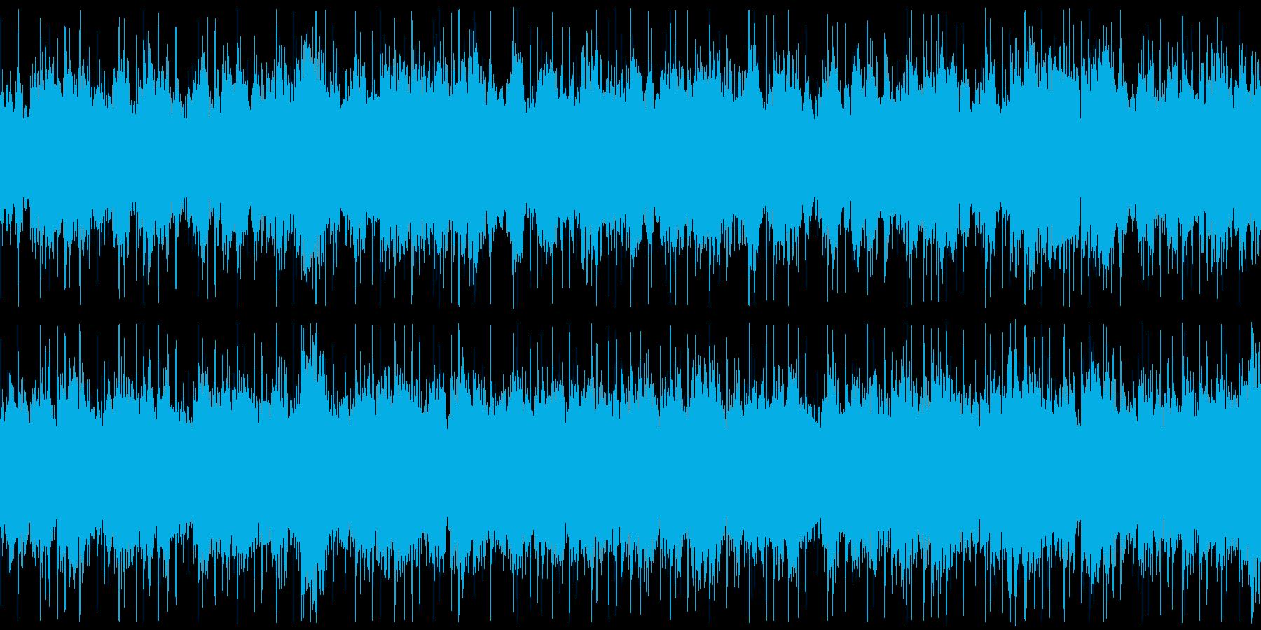 浮遊感、宇宙感のあるテクノの再生済みの波形