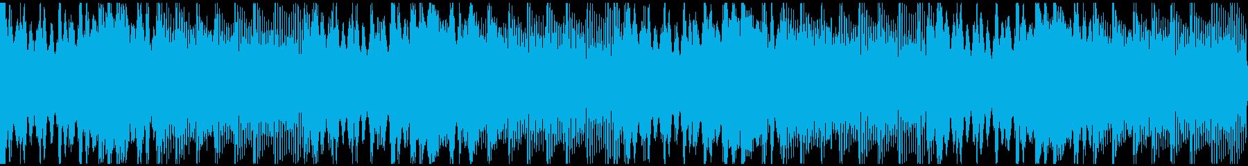 感動を演出するCM、爽やか動画、ループ3の再生済みの波形