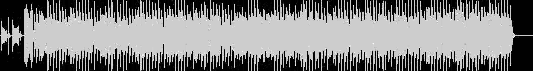 コミカルで楽しい行進曲風BGMの未再生の波形