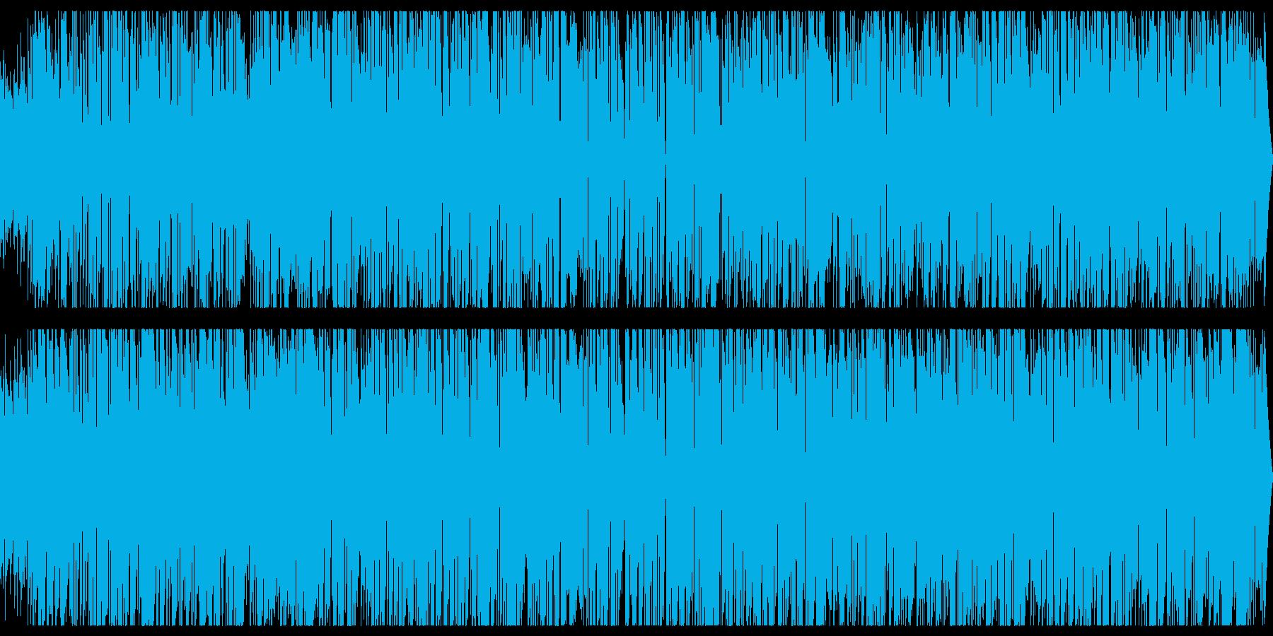 ロックオルガンの優しいバラードジャズの再生済みの波形