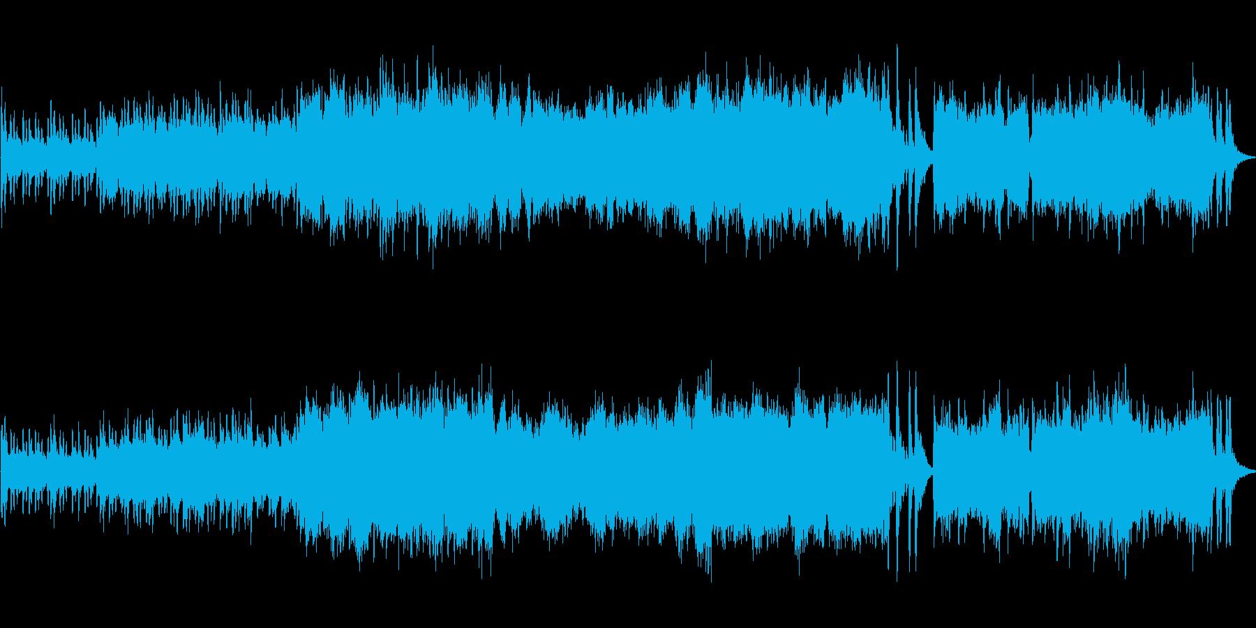 挫折感オーケストラ戦闘試練の再生済みの波形