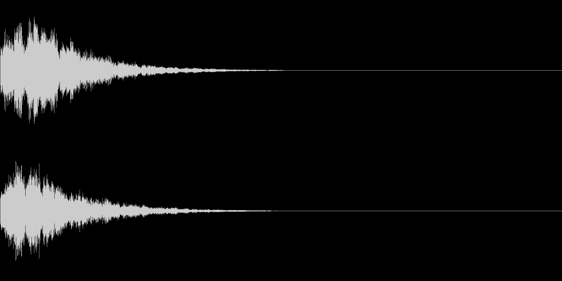キラーン(アイテム使用音)の未再生の波形