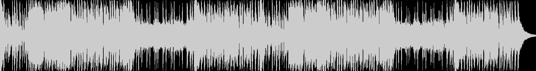 軽快なオーケストラBGMの未再生の波形