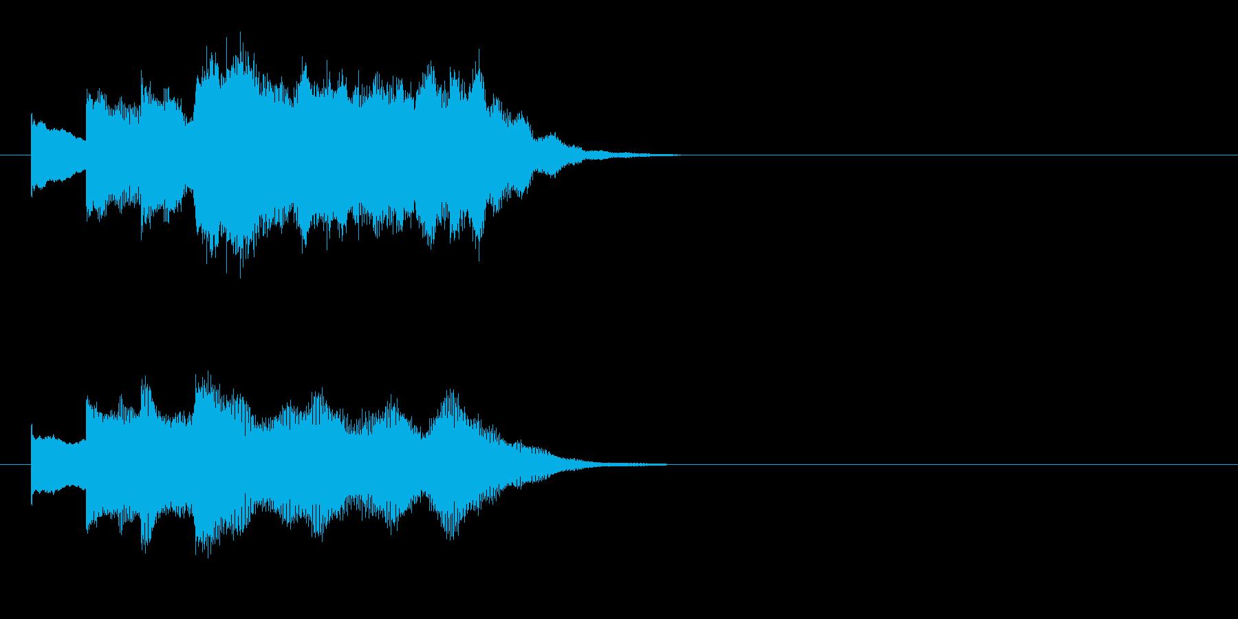 場面転換 メルヘン 穏やか 浮遊 幻想の再生済みの波形