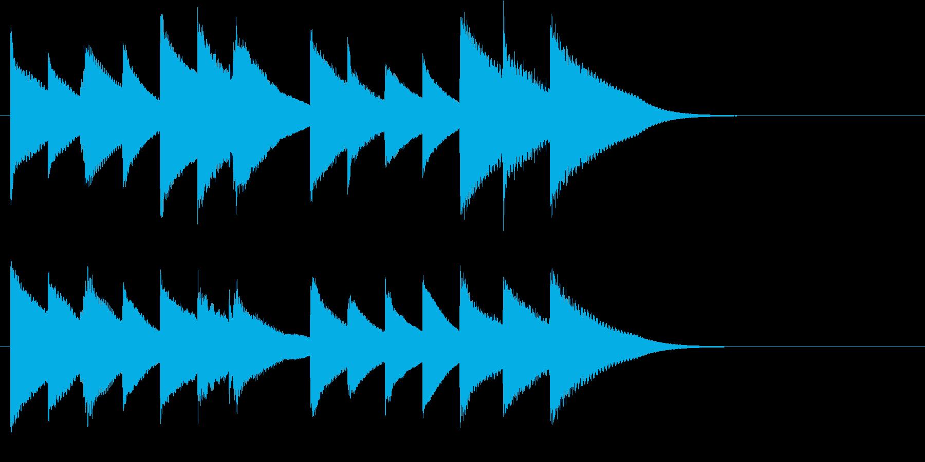 オルゴールのスローバラード。(BGMバ…の再生済みの波形