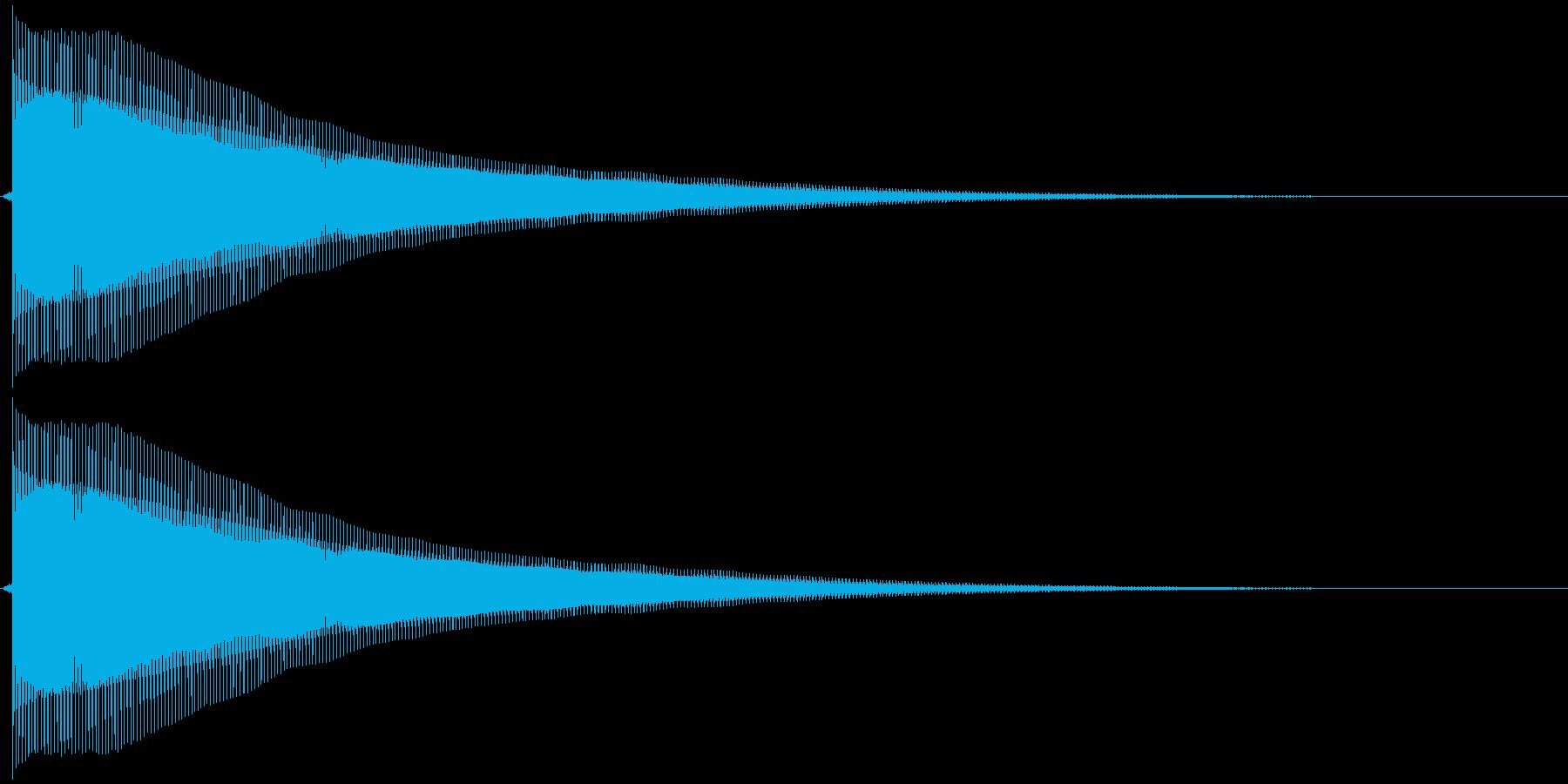 ピヨ~ンの再生済みの波形