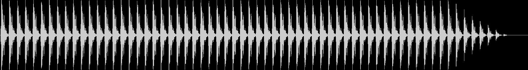 クリスマスの鈴(テンポ遅い)の未再生の波形