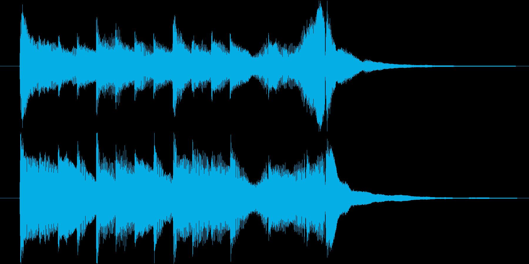アコギとピアノで奏でるジングル#2の再生済みの波形