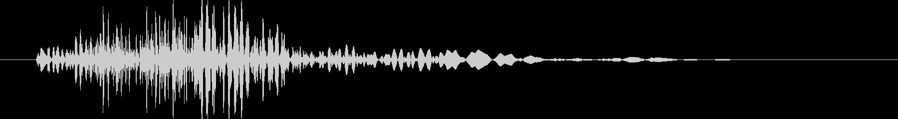 剣や刀/鞭,ムチ/ 風切り音 02の未再生の波形