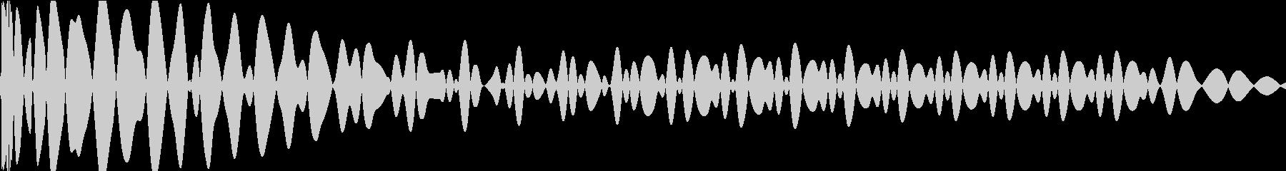 EDMキック キーGの未再生の波形