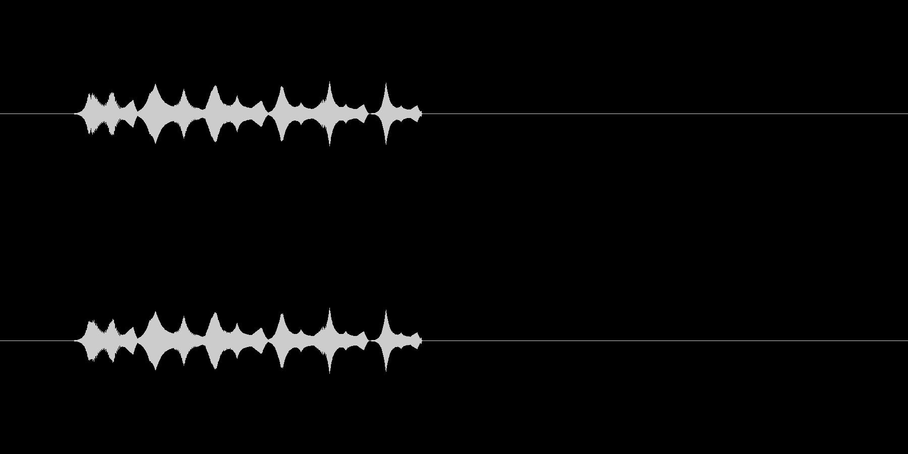 【ポップモーション34-1】の未再生の波形