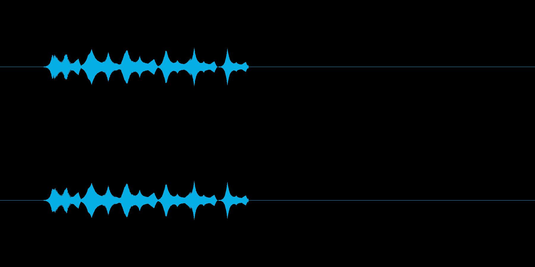 【ポップモーション34-1】の再生済みの波形