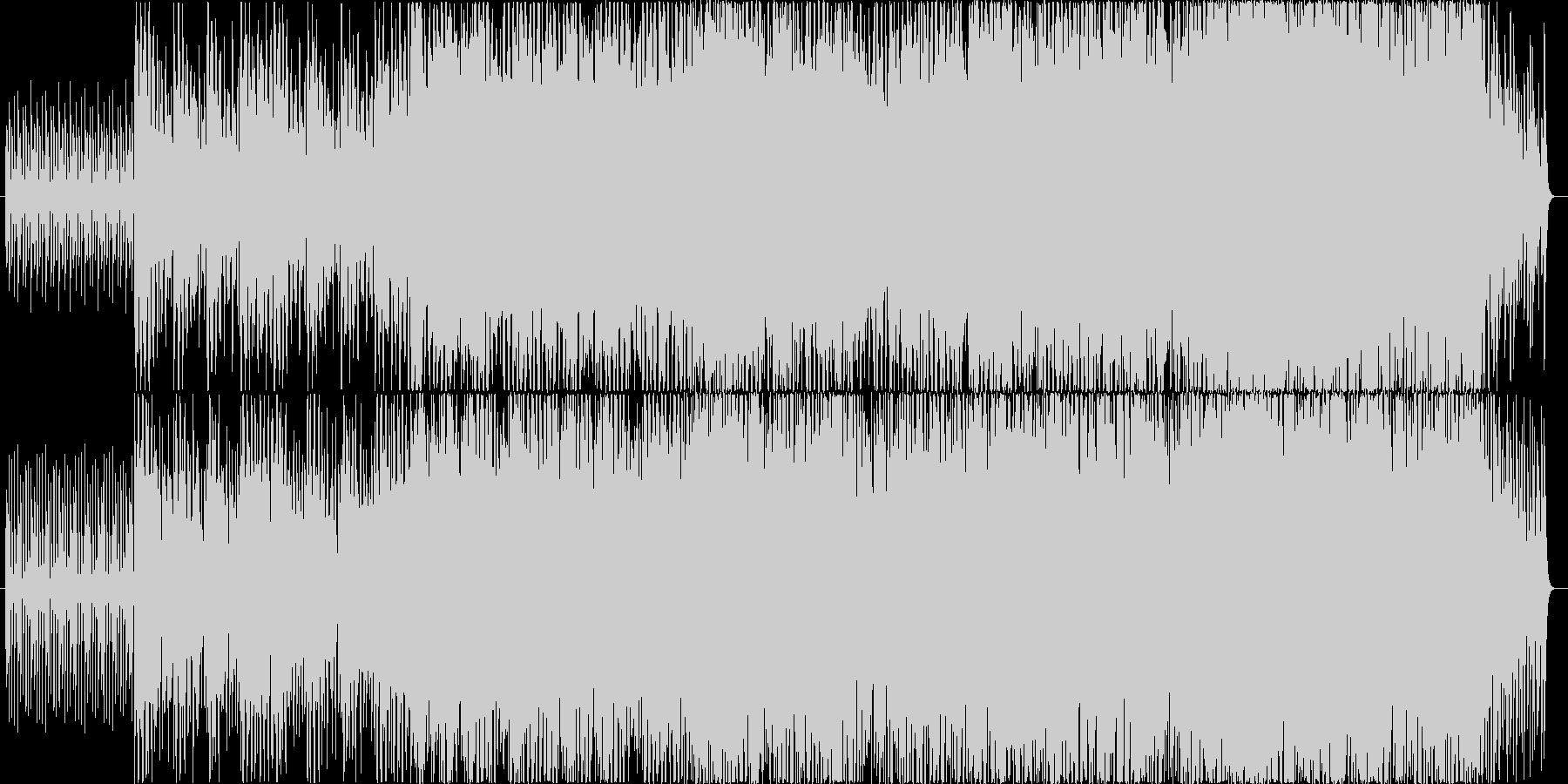 さわやかなアコースティック系のインストの未再生の波形