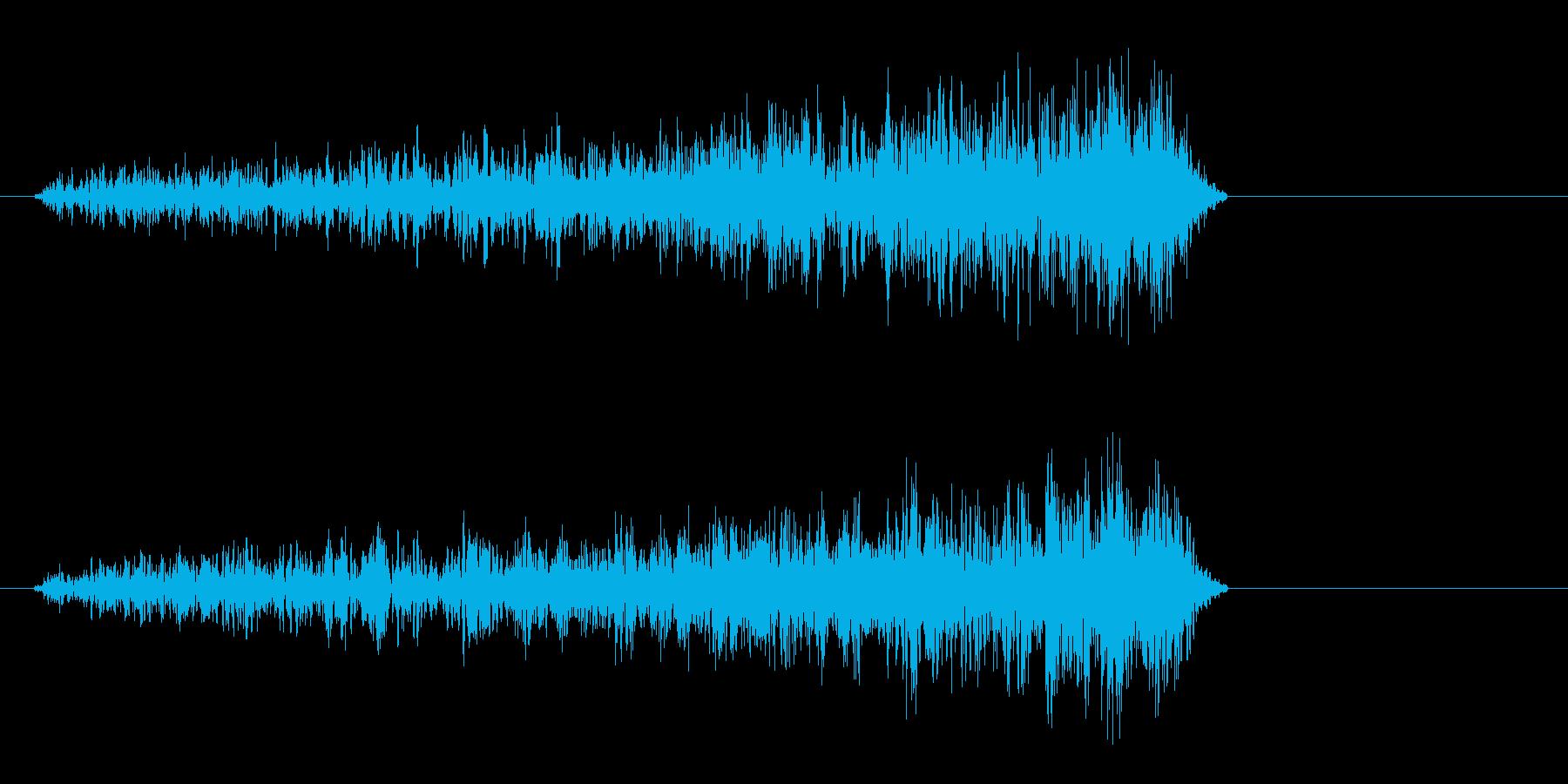 シュ〜イ(摩擦音)短めの再生済みの波形