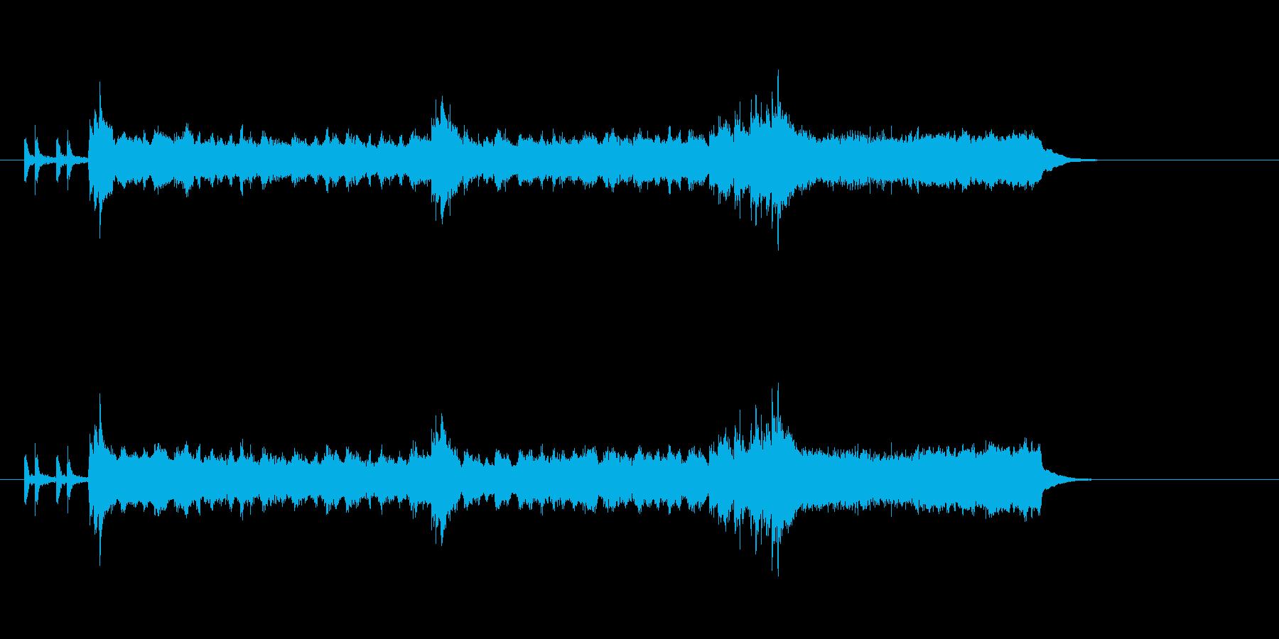 ストリングス ファンタジー ほのぼのの再生済みの波形